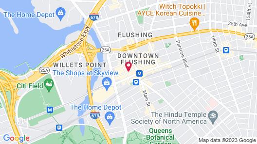 Sheraton LaGuardia East Hotel Map