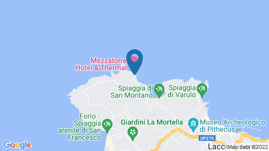 Mezzatorre Hotel & Thermal Spa Map