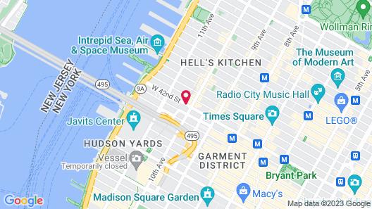 Travel Inn Hotel Map