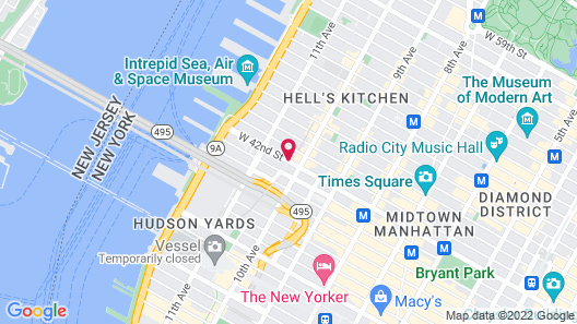 Cachet Boutique New York Map