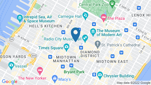 Radio City Apartments Map