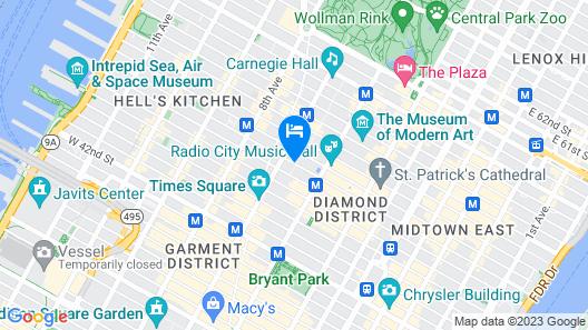 Radio City Apartments Map