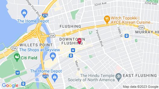 Best Western Queens Court Hotel Map