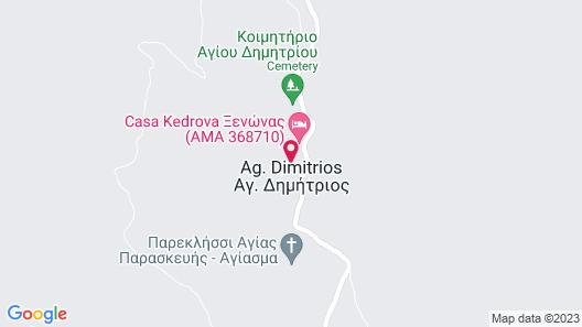 Casa Kedrova, Mountain Voras-Kaimaktsalan Edessa Map