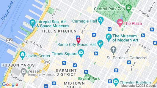 The Gallivant Times Square Map