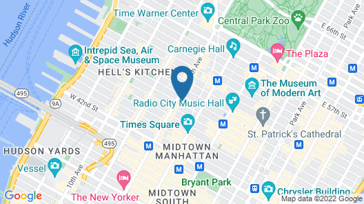 The Gallivant Times Square Map