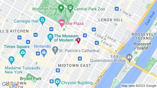 Hotel 57 Map