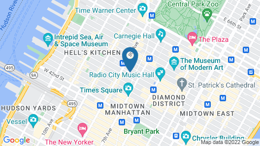 The Time New York Map