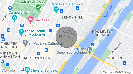 Amazing 4 Beds Apartment ON Prime Upper East Side Map