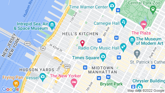 The Duffy Times Square by Kasa Map