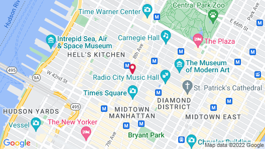 The Pearl New York Map