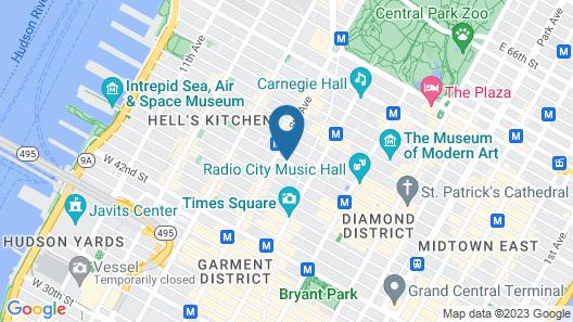 Mayfair New York Map