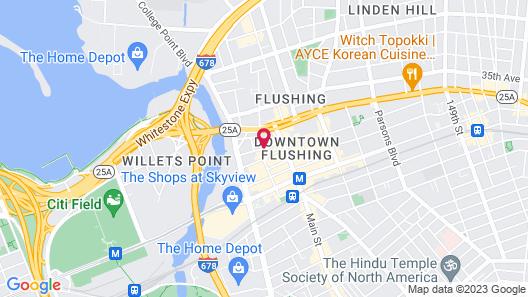 Ramada by Wyndham Flushing Queens Map