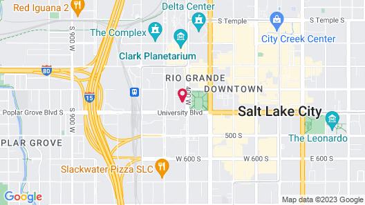 Kasa Salt Lake City Downtown Apartments Map