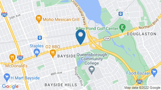 Best Western Queens Gold Coast Map