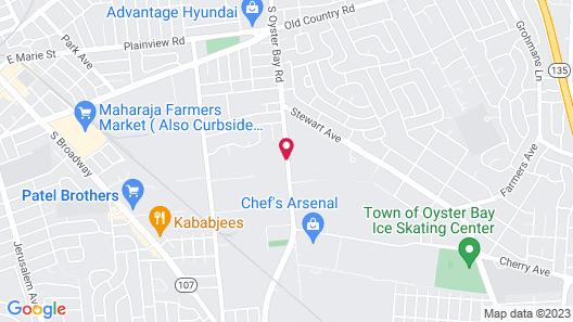 Days Inn by Wyndham Hicksville Long Island Map