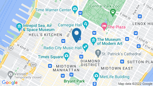 Executive Class at MTS Hotel Map