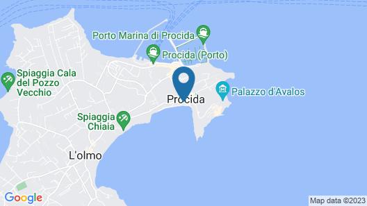 San Michele Map