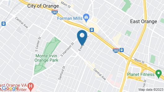 Ramada by Wyndham East Orange Map