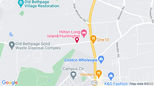 Extended Stay America - Long Island - Melville Map