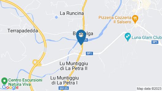 Hotel San Teodoro Map