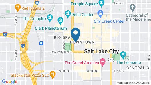 Residence Inn by Marriott Salt Lake City - Downtown Map
