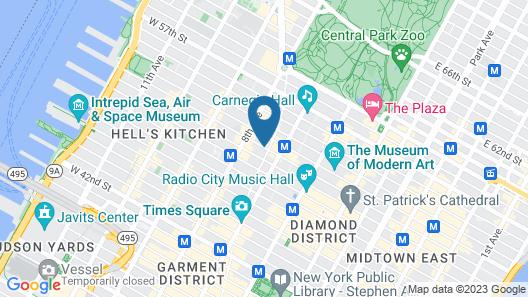 Novotel New York Times Square Map