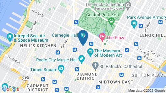 Blakely New York Map