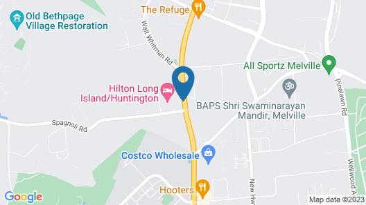 Hilton Long Island Huntington Map