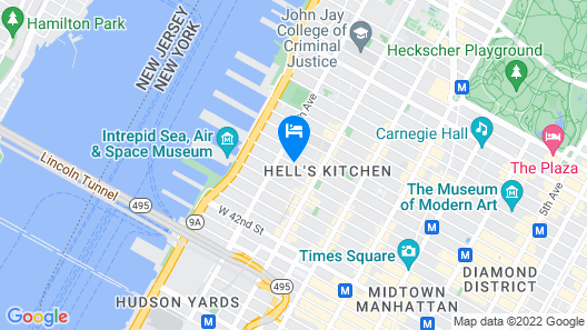 Hotel Five44 Map