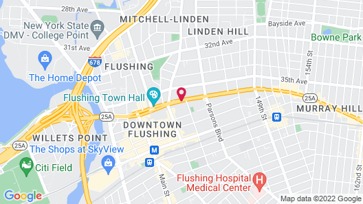 Flushing Ymca Map