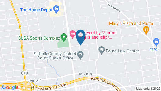 Courtyard by Marriott Long Island Islip/Courthouse Complex Map