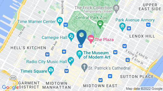 The Quin Central Park by Hilton Club Map