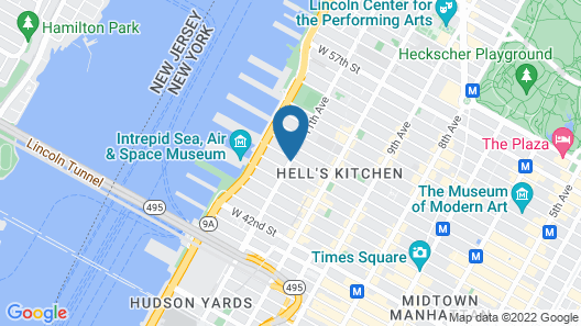 Ink 48 Hotel Map