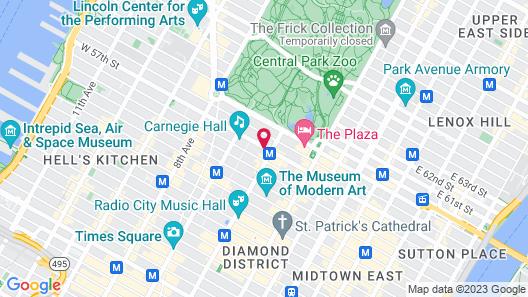 West 57th Street by Hilton Club Map