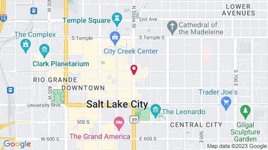 Marriott City Center Map
