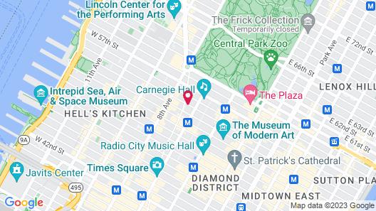 Dream Midtown Map