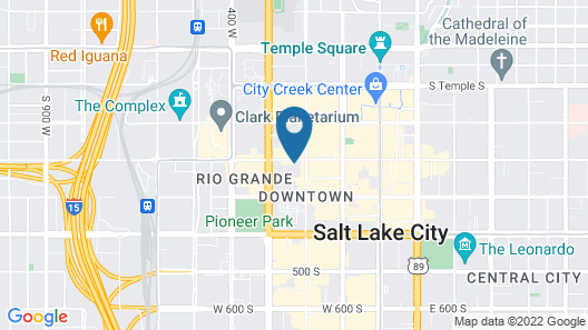 AC by Marriott Salt Lake City Downtown Map