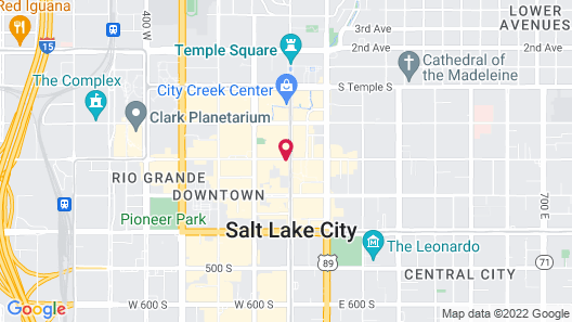 Kimpton Hotel Monaco Salt Lake City, an IHG Hotel Map