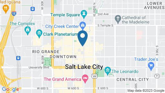 Kimpton Hotel Monaco Salt Lake City Map