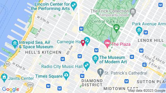 The Manhattan Club Map