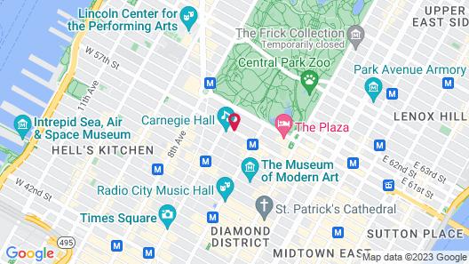 Park Hyatt New York Map