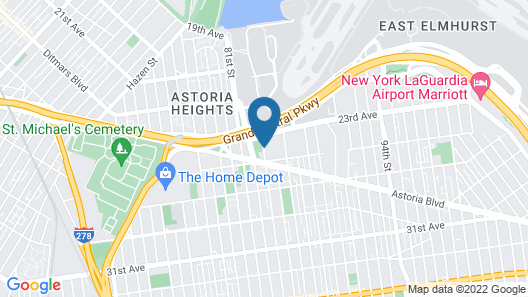 Avion Inn Near LGA Airport, Ascend Hotel Collection Map