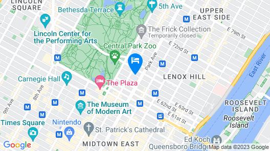 Hotel Plaza Athenee Map