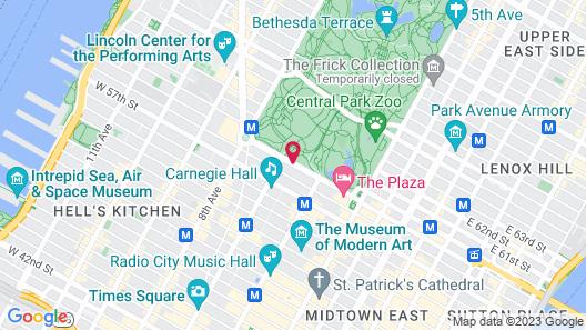 JW Marriott Essex House New York Map