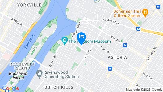 Super 8 by Wyndham Long Island City LGA Hotel Map