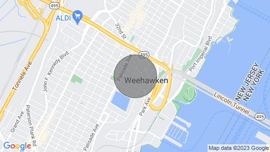 Apartment Close to NY Map