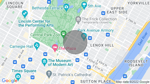 The Central Park Studio Map