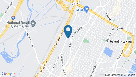Wyndham Garden North Bergen Near Secaucus Map
