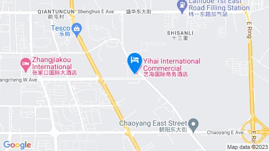 Yihai International Business Hotel Map